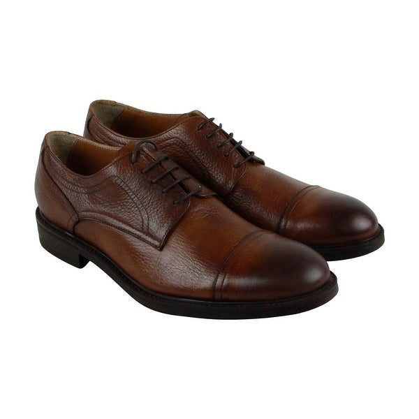 Kenneth Cole New York Design 10621 Mens Brown Casual Dress Oxfords Shoes