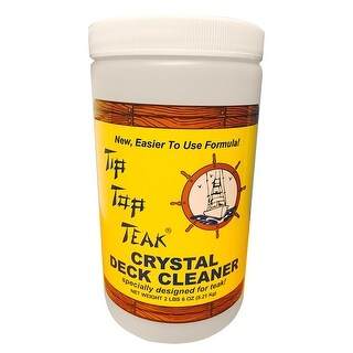 Tip Top Teak Crystal Deck Cleaner Quart Tc 2000