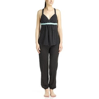 PJ Couture Women's Polka Dot Babydoll Top/Long Pant Pajama Set (2 options available)