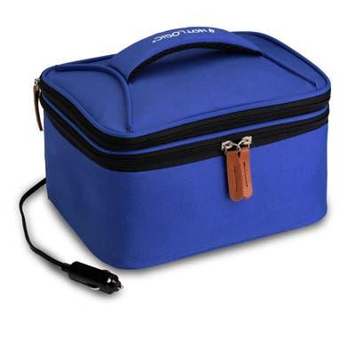 HOTLOGIC 16801174-BL Portable Personal Expandable 12V Mini Oven XP, Blue