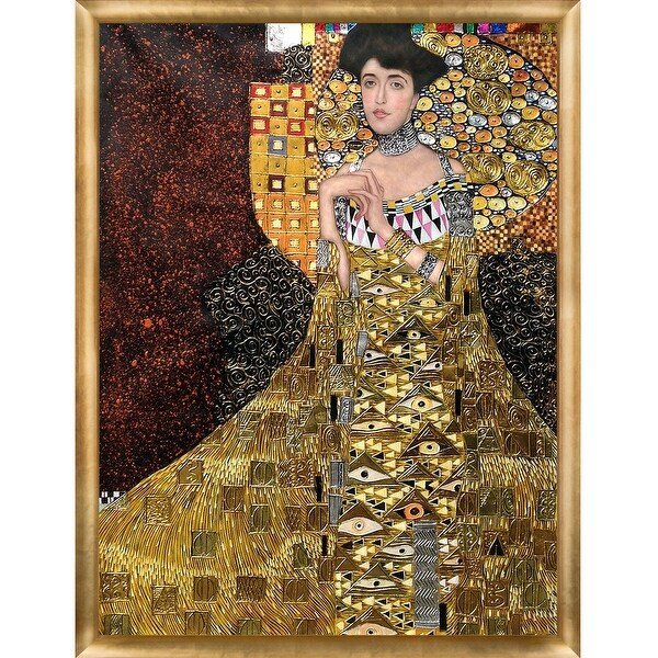 gustav klimt 39 portrait of adele bloch bauer i 1907. Black Bedroom Furniture Sets. Home Design Ideas