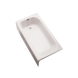 "Toto FBY1515LP 59-3/4"" Soaking Bath Tub for Alcove Installations with Left Hand Drain"