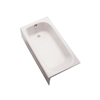 "Toto FBY1515RP 30"" x 14 11/16"" Alcove Soaker Bath Tub with Right Hand Drain"
