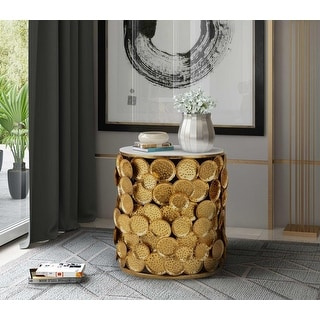 Link to Brie Marble Side Table Similar Items in Living Room Furniture