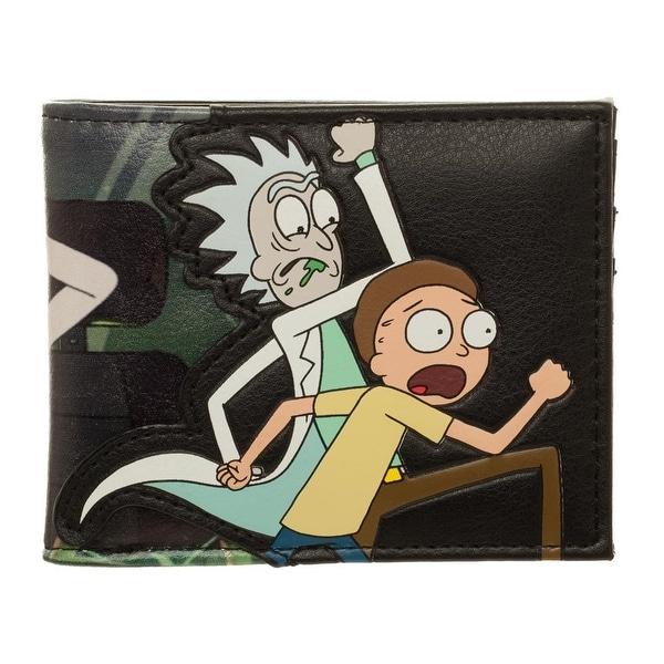 Rick and Morty PU Bi-Fold Wallet