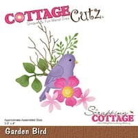 Garden Bird - Cottagecutz Die
