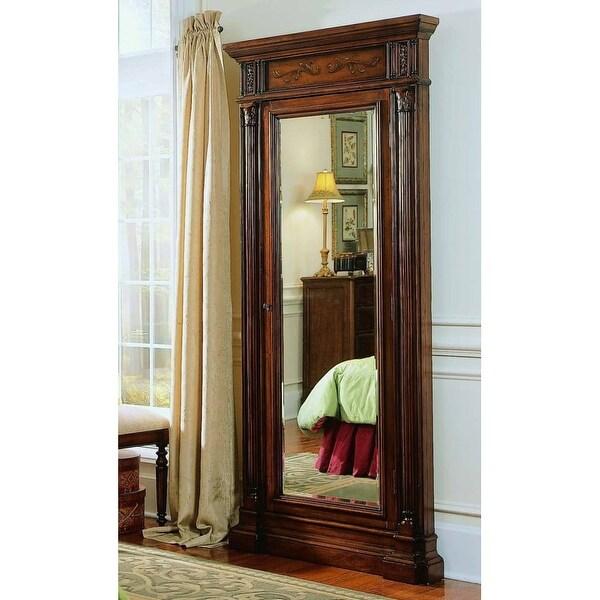 Hooker Furniture 500-50-558 40 Inch Wide by 85-1/4 Inch Tall Hardwood Jewelry Mi - Dark Wood - N/A