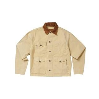 Schaefer Western Jacket Mens Vintage Brush Rangewashed Unlined 309