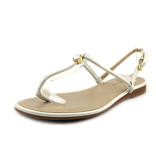 Bandolino Womens Depew Split Toe Beach T-Strap Sandals