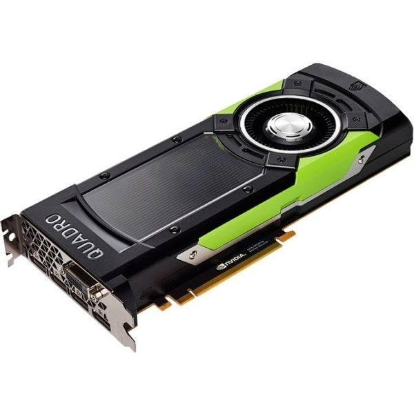 PNY Quadro GP100 Graphic Card - 16 GB HBM2 - Full-height - Dual Slot Space Required - 4096 bit Bus Width - Fan Cooler - OpenGL 4