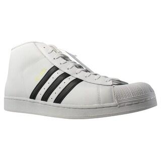 Adidas Mens Pro Model White Fashion Shoes Size 18