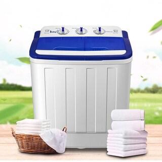ZOKOP XPB50-RS5 16Lbs Semi-automatic Twin Tube Washing Machine