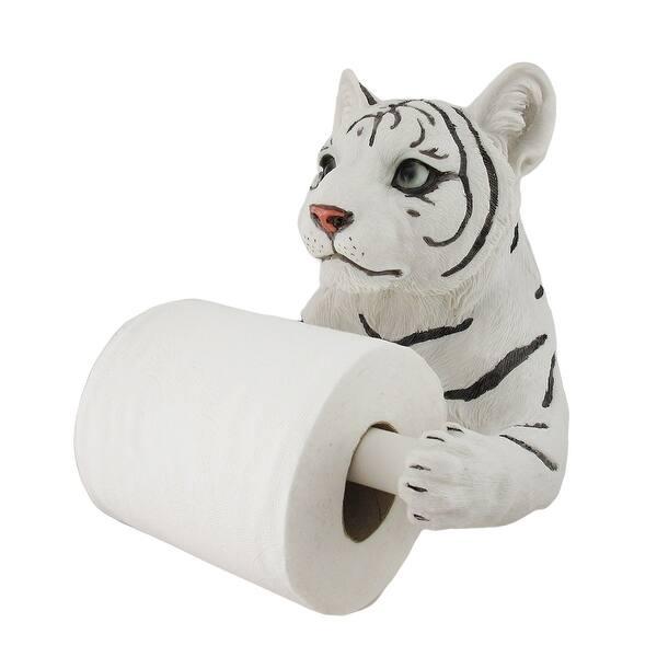 White Tiger Sculptured Bath Tissue