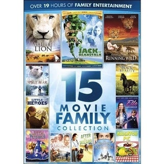 15-Movie Family Collection [DVD]