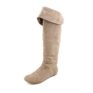 Kenneth Cole Reaction Pro-Long    Round Toe Canvas  Knee High Boot