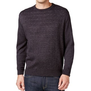 Weatherproof NEW Charcoal Gray Mens Size 3XL Crewneck Pull-Over Sweater