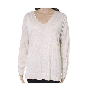 Polo Ralph Lauren NEW White Ivory Womens Size Large L V-Neck Sweater