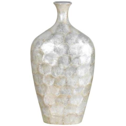 Cal Lighting TA-971L Genuine Seashell Vase Large
