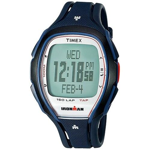 Timex TW5K96500 Ironman Sleek 150 Full-Size Unisex Watch Dark Blue