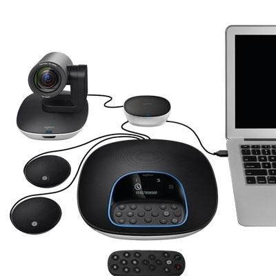 Logitech 960-001060 Video Conferencing Bundle W/ Expansion Mics