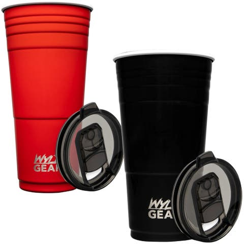 Wyld Gear 32 oz. Insulated Stainless Steel Party Cup Tumbler - 32 oz.