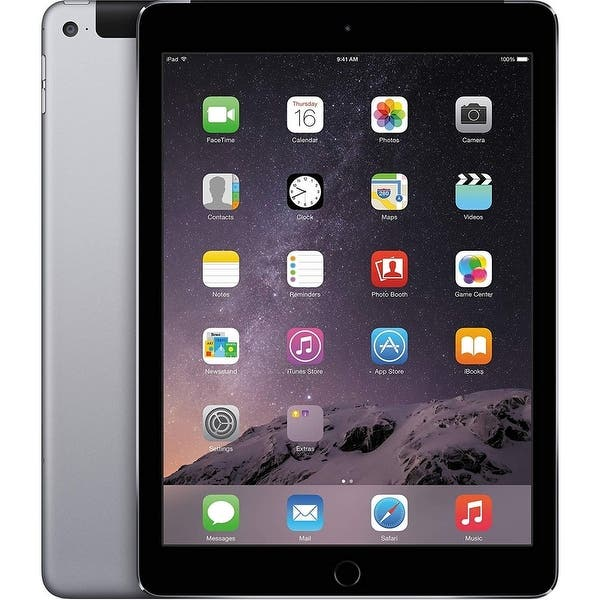 Apple Ipad Air 2 64gb Space Gray Unlocked Acceptable Overstock 32003264
