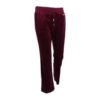 MICHAEL Michael Kors Women's Drawstring Velour Pants