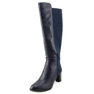 Ann Marino by Bettye Muller Must Be Hot Women Round Toe Canvas Knee High Boot|https://ak1.ostkcdn.com/images/products/is/images/direct/083821d875fee14deb2b4b804a72148ac407b1cb/Ann-Marino-by-Bettye-Muller-Must-Be-Hot-Women-Canvas-Blue-Knee-High-Boot.jpg?impolicy=medium