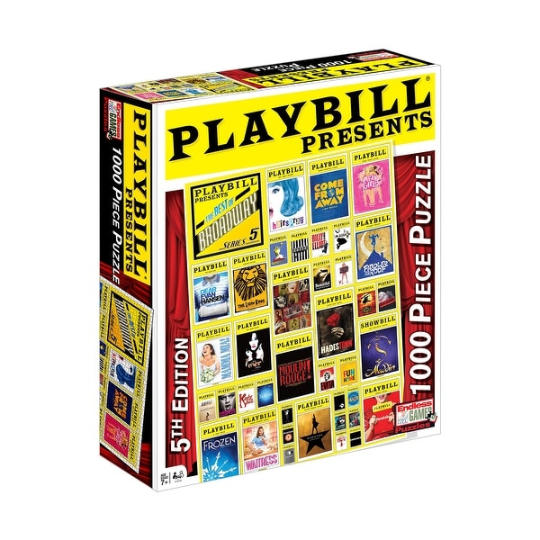 Playbill Presents - Best of Broadway 1,000-piece Jigsaw Puzzle. Opens flyout.