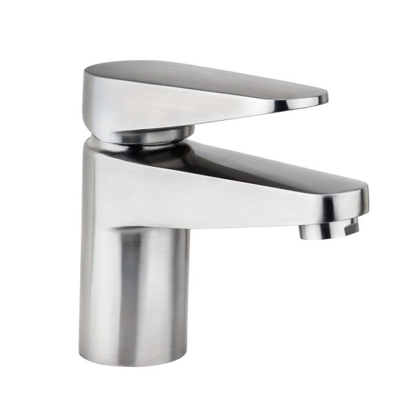 Exceptionnel Miseno ML082 Single Hole Stainless Steel Bathroom Faucet With Push Pop  Drain Assembly