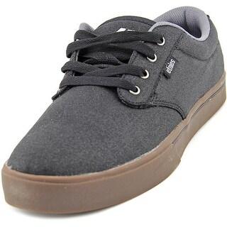 Etnies Jameson 2 Eco Men Round Toe Canvas Black Skate Shoe