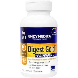 EnzyMedica Digest Gold + Probiotics - 90 Capsules