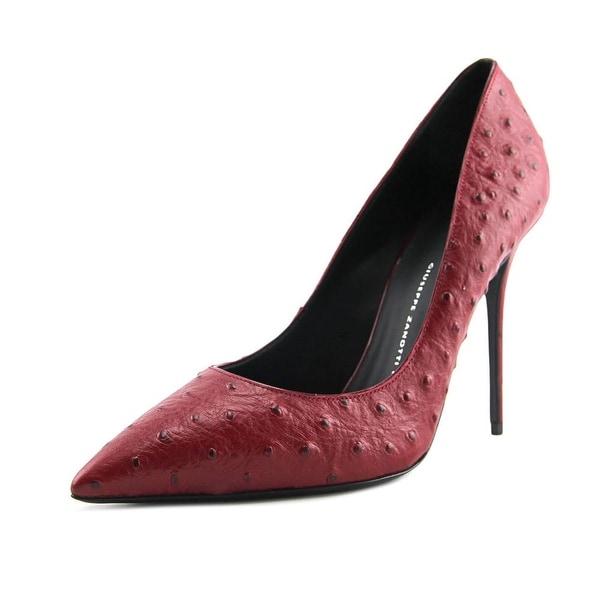 Giuseppe Zanotti lucrezia 105 Women Pointed Toe Leather Red Heels