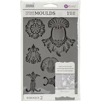 Iron Orchid Designs Vintage Art Decor Mould -Baroque #2