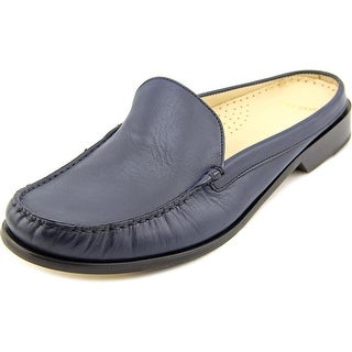 Cole Haan Ryann Mule Round Toe Leather Mules