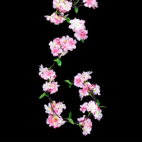 6ft Cherry Blossom Flower Garland
