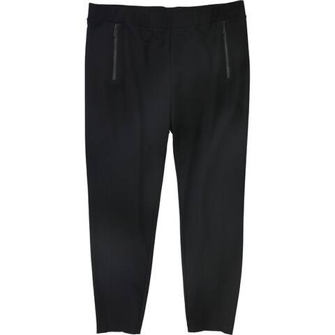 Alfani Womens Zip Detail Casual Leggings