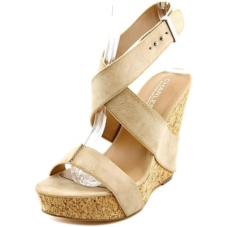 Charles By Charles David Arlington Women Open Toe Synthetic Tan Wedge Sandal|https://ak1.ostkcdn.com/images/products/is/images/direct/083ccd852144ae42b13058e50edfc6b002604da5/Charles-By-Charles-David-Arlington-Women-Open-Toe-Synthetic-Wedge-Sandal.jpg?impolicy=medium