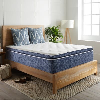 American Bedding 12 Inch Plush Pillow Top Hybrid Mattress