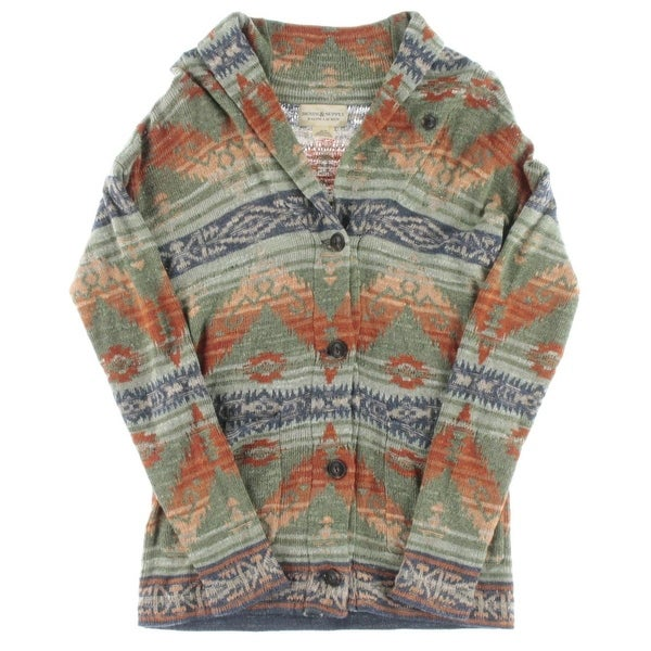 Denim & Supply Ralph Lauren Womens Shawl-Collar Sweater Knit Long Sleeves -  xs
