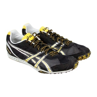 Asics Gel Dirt Dog 3 Mens Black Mesh Athletic Track Spikes Running Shoes