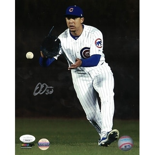 Jon Jay AutographedSigned Chicago Cubs 8x10 Photo JSA PF