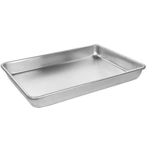 Oster 17 Inch x 12 Inch Baker's Glee Aluminum Roaster Pan