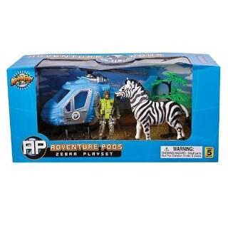 Rhode Island Novelty Zebra Adventure POD Playset