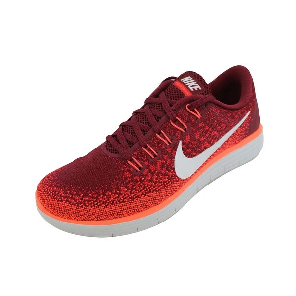 9beb2986201f Shop Nike Men s Free RN Distance Team Red Off White-University Red ...