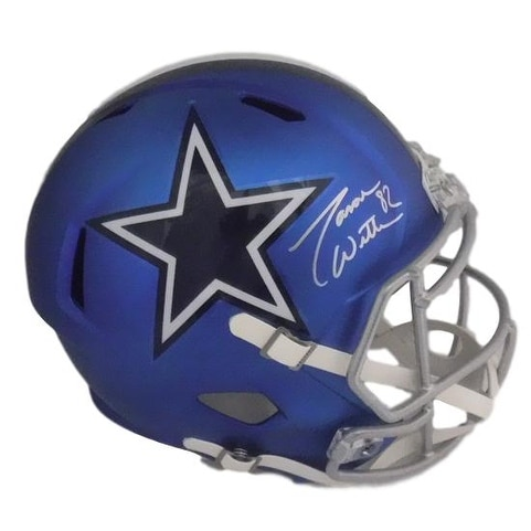 the latest a72de 00bcb Jason Witten Autographed Dallas Cowboys Full Size Blaze Replica Helmet JSA