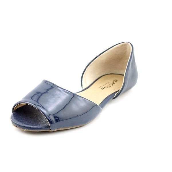 Kenneth Cole Reaction Women's Tina Tot 2 Patent Open-Toe Flats