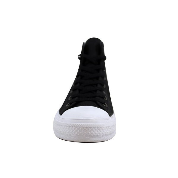 Shop Converse Men's Chuck Taylor II Hi Black/White 150143C