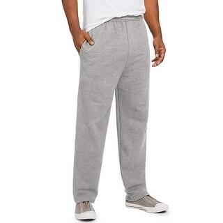 Hanes ComfortSoft EcoSmart Men's Fleece Sweatpants - Size - XL - Color - Grey Heather