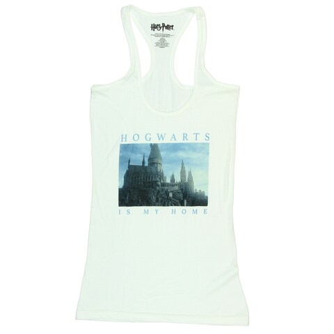 Harry Potter Hogwarts Is My Home Girls Tank Top